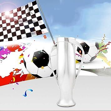 La Liga Troph/äe for Fans//Souvenir//Sammlung//Geschenk//Hauptdekoration//Verzierungen//Auszeichnungen von Fu/ßballspiel Liga-Meisterschaft Trophy SXQ Troph/äen