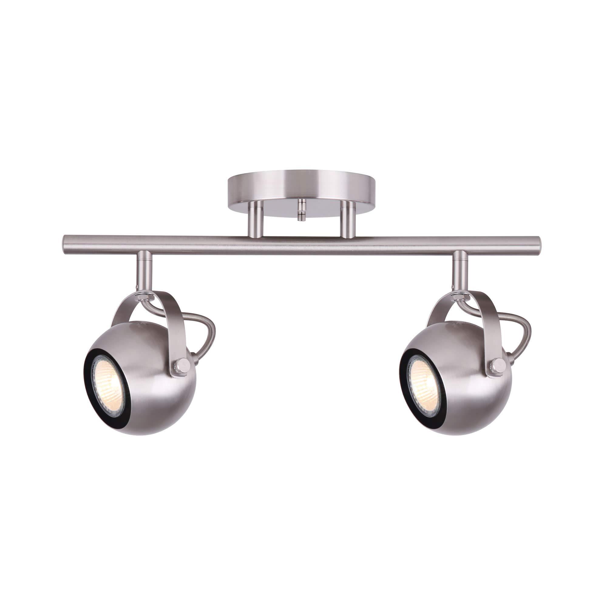 Canarm IT743A02BN10 MURPHY Ceiling/Wall Mount Track light Nickel
