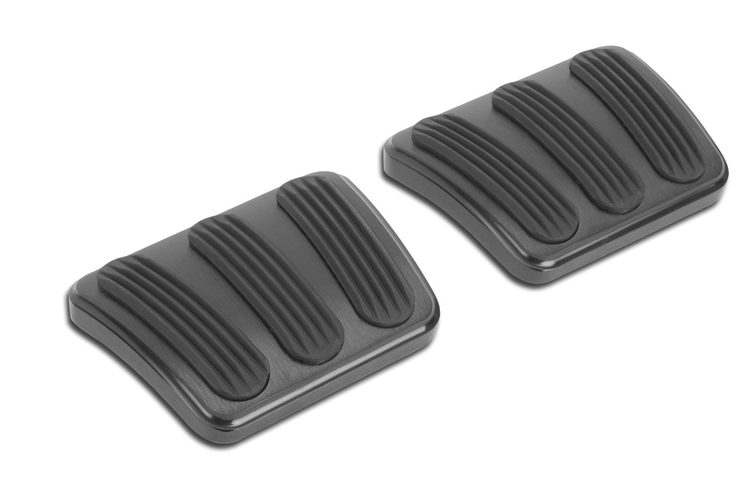 Lokar XBAG-6132 Black Brake/Clutch Pad with Rubber for Chevelle