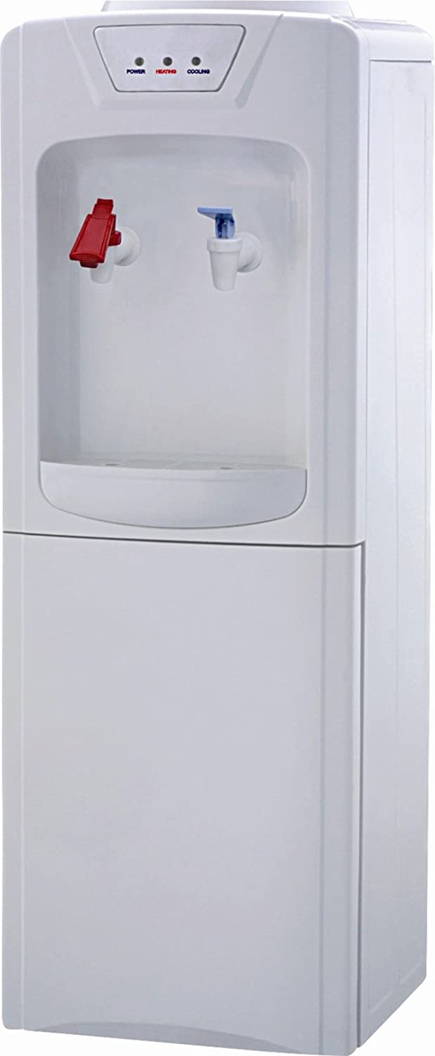 Refrigerated Water Dispenser Amazoncom Igloo Mwc496 Water Cooler Dispenser Hot Cold White
