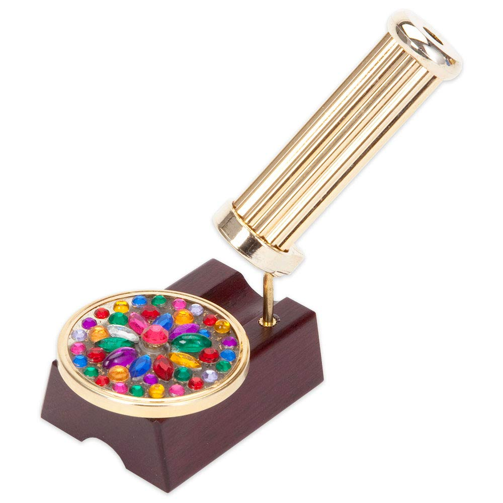 Bits and Pieces - Spinning Desktop Kaleidoscope - Everchanging New Take on The Classic Kaleidoscope by Bits and Pieces