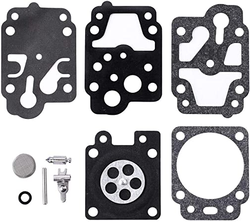 Carburetor Overhaul Kit Fit K10-WYC WYC-10-1 Carb Homelite blowers
