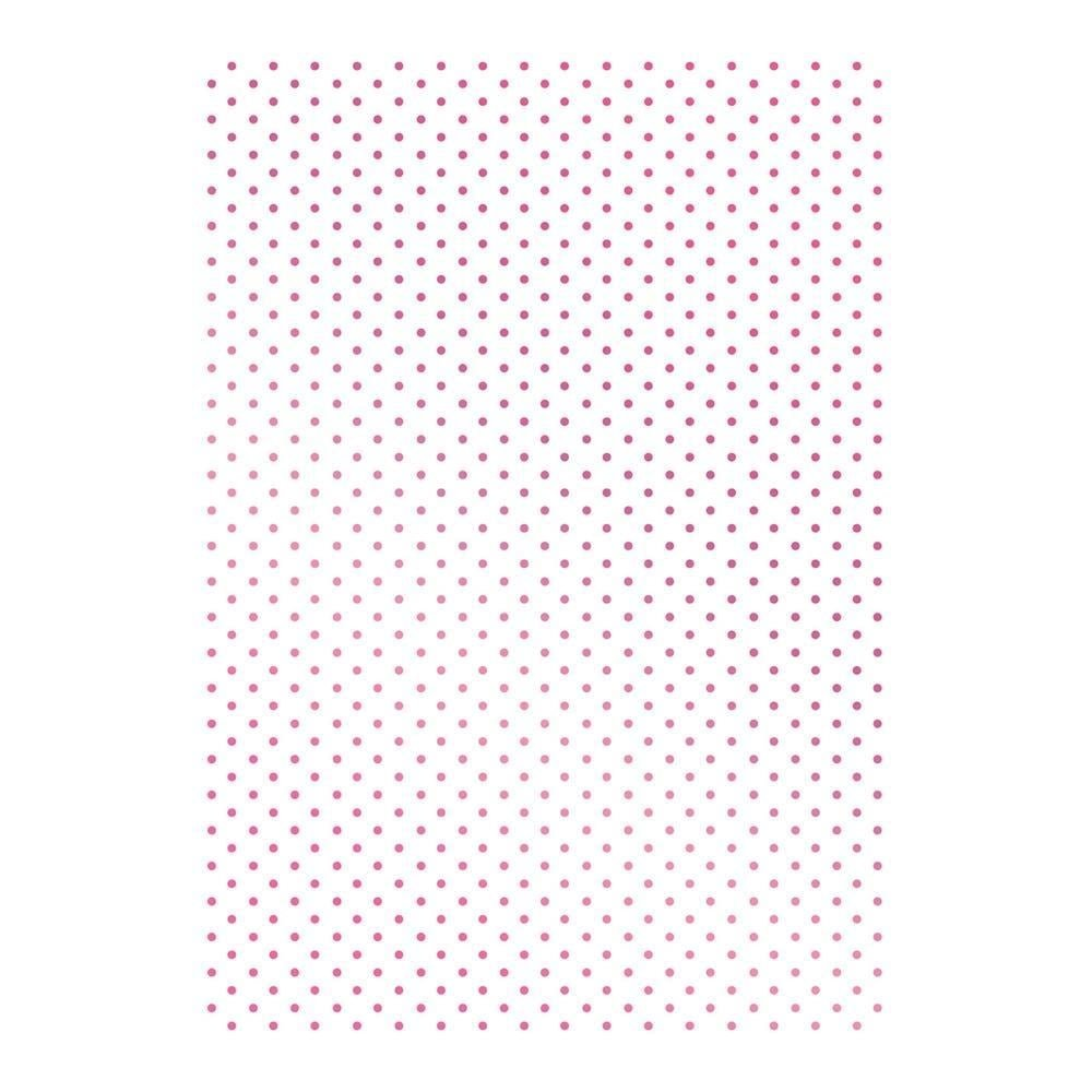 Couture Creations C'est La Vie Hotfoil Stamp -Swiss Dots Dots Dots Background 3.3 X4.8  B07BXDFL6M | Wonderful