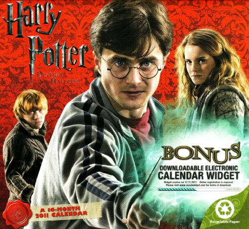 Click for larger image of 2011  Harry Potter and the Deathly Hallows   Mini  Calendar
