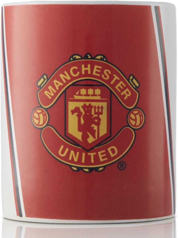 كوب قهوة وشاي من السيراميك مانشستر يونايتد - هدية رائعة لمحبي مانشستر يونايتد - منتج مرخص رسميًا