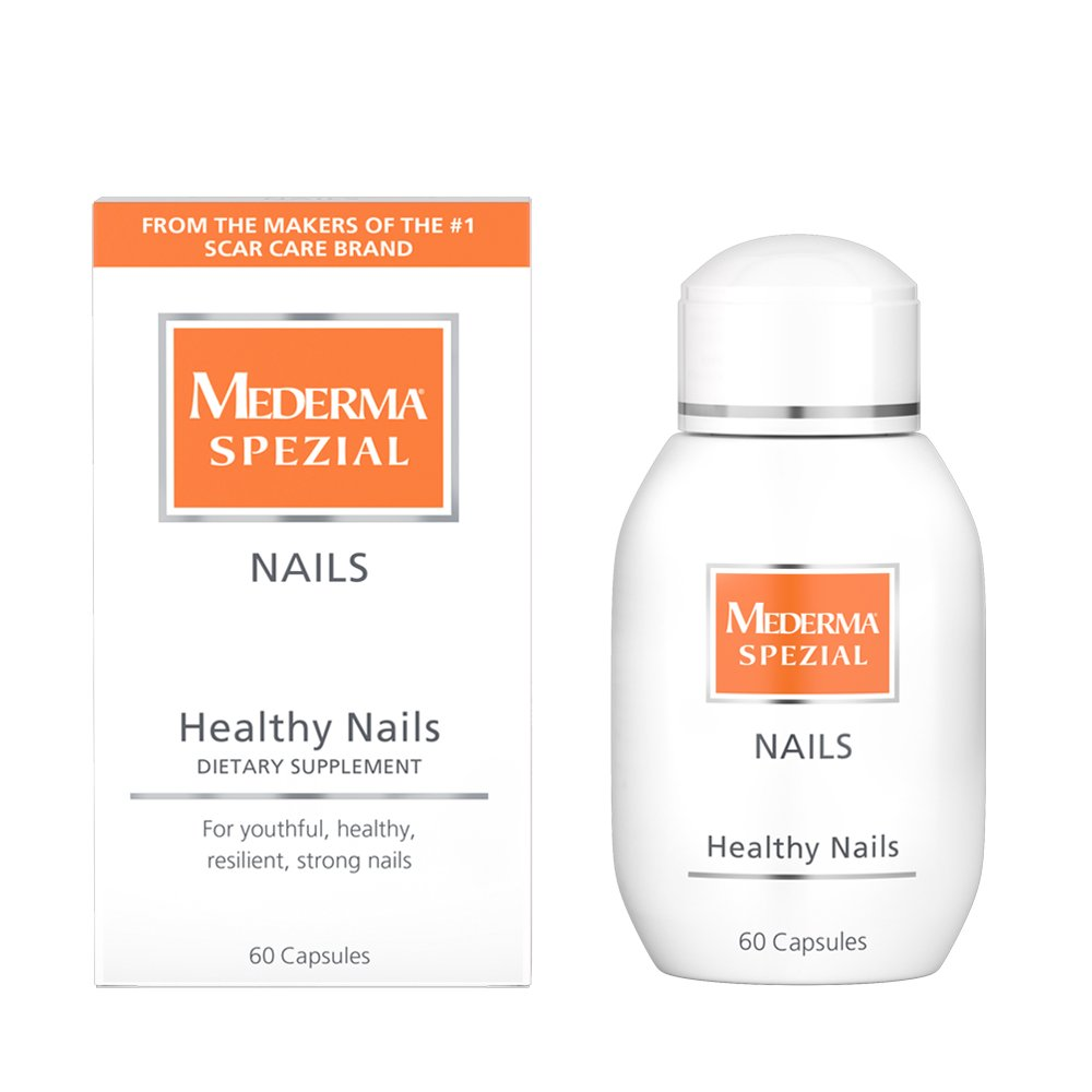 Mederma Spezial Nail Capsules - Dietary Supplement Containing a Unique Combination of Vitamins, Microutrients, & Soy Protein to Promote Strong, Healthy Nails - 60 Capsules