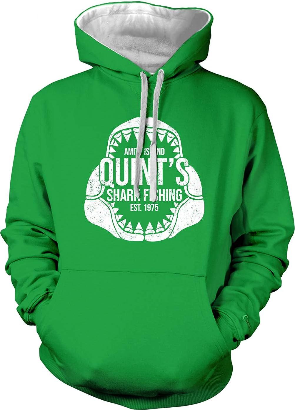 Quint's Shark Fishing - Amity Island Parody Unisex Hoodie Sweatshirt