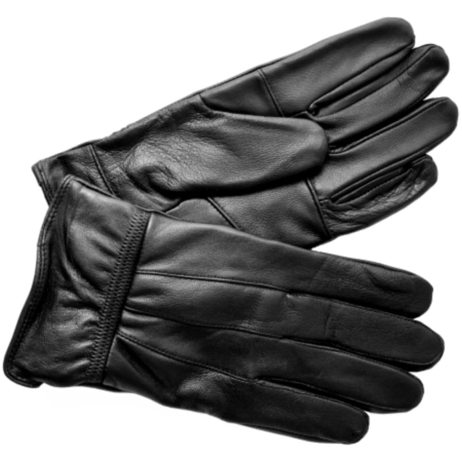 Mens leather gloves black friday - Leather Emporium Mens New Black Soft Leather Driving Gloves
