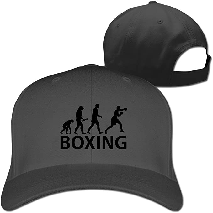 Ciorem Evolución de Boxeo Ajustable Gorras de béisbol: Amazon ...