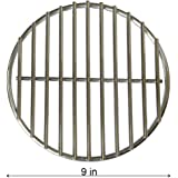 Onlyfire Stainless Steel High Heat Charcoal Fire Grate for Large Big Green Egg Grill, Vision Grills, 9-inch