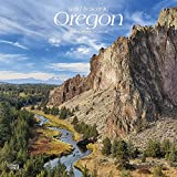 Oregon, Wild & Scenic 2019 12 x 12 Inch Monthly Square Wall Calendar, USA United States of America Pacific West State Nature (Multilingual Edition)
