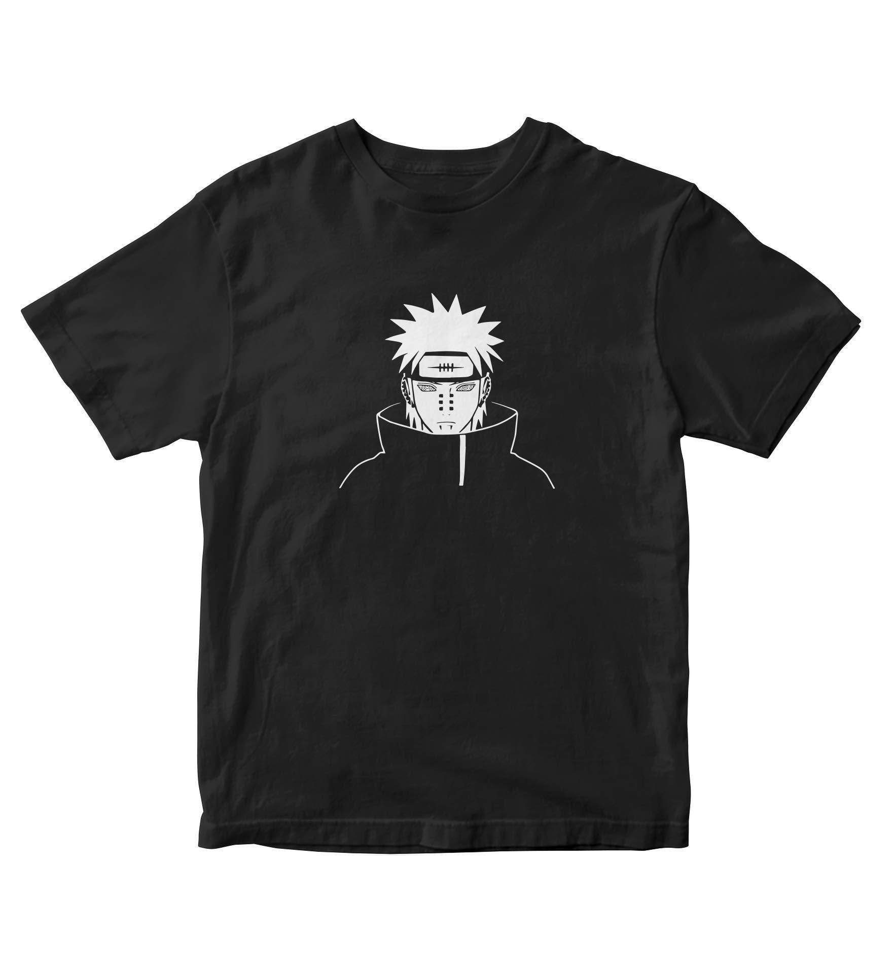 Tjsports Nagato Pain Akatsuki Naruto T Shirt Adult S Anime Manga A695