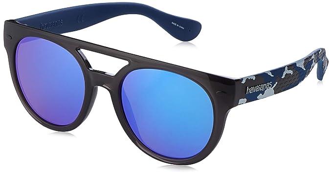 Havaianas Buzios Gafas de Sol, Multicolor (Greyblyel), 53 ...
