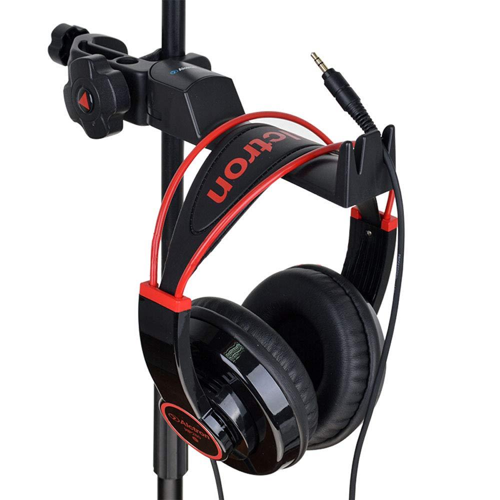 ALCTRON MAS003 Headphone Holder Tambourine Holder Hanger Clip Microphone/Musical Stand,Desk Headset Holder