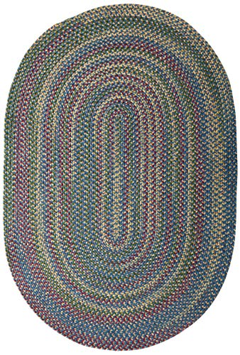 Twilight Area Rug, 3 by 5-Feet, Federal Blue