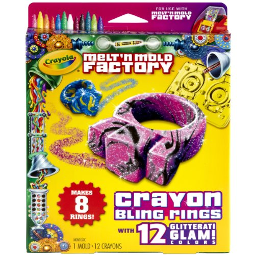 Crayola Melt 'N Mold Bling Rings Expansion Pack (Crayola Marker Maker Refill compare prices)