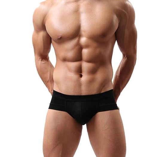 f84aecdf1ec Hatop Trunks Sexy Underwear Men s Boxer Briefs Shorts Bulge Pouch Soft  Underpants (XL
