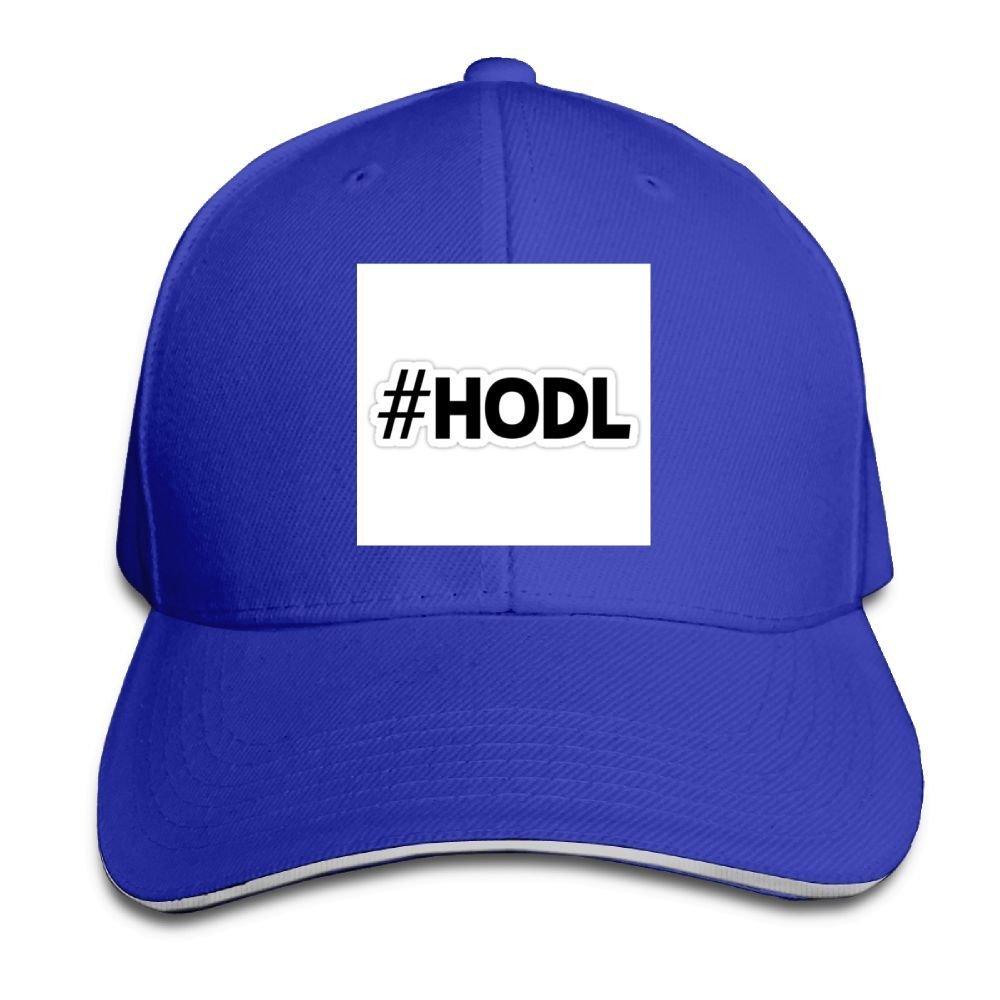 BUSEOTR HODL Baseball Caps Adjustable Back Strap Flat Hat