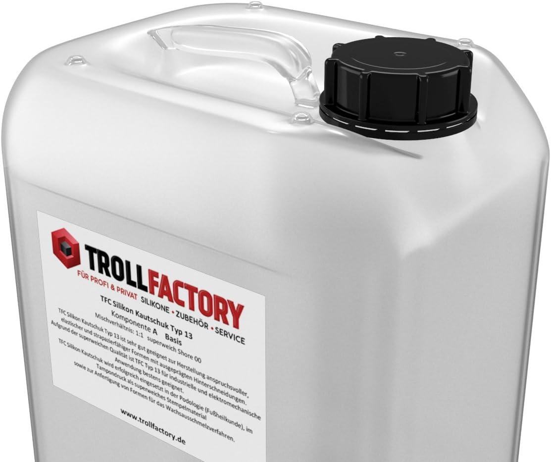 sehr weich I transluzent I 500 g 2 x 250 g TFC Troll Factory ...
