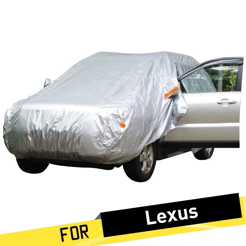 ERQINGCZ Wasserdichte Autoabdeckung Auto Auto Abdeckung Regen Sun Schnee Schutzabdeckung Für Lexus Nx Nx200T Nx300H Rx Rx350 Rx450H Rx270 Rx300 Rx330 Rx240 Rx400H