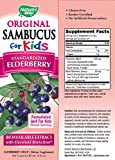 Natures Way Sambucus for Kids Bioavailable Elderberry, 8 Fl Oz