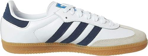 Adidas Samba OG White Collegiate Navy Blue