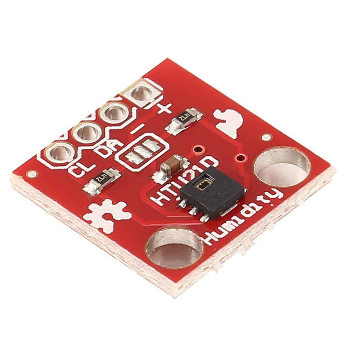 Sensore di temperatura e umidit/à HTU21D Sensore di temperatura Modulo sensore di breakout altamente accurato 1,5 V 3,6 V Rosso