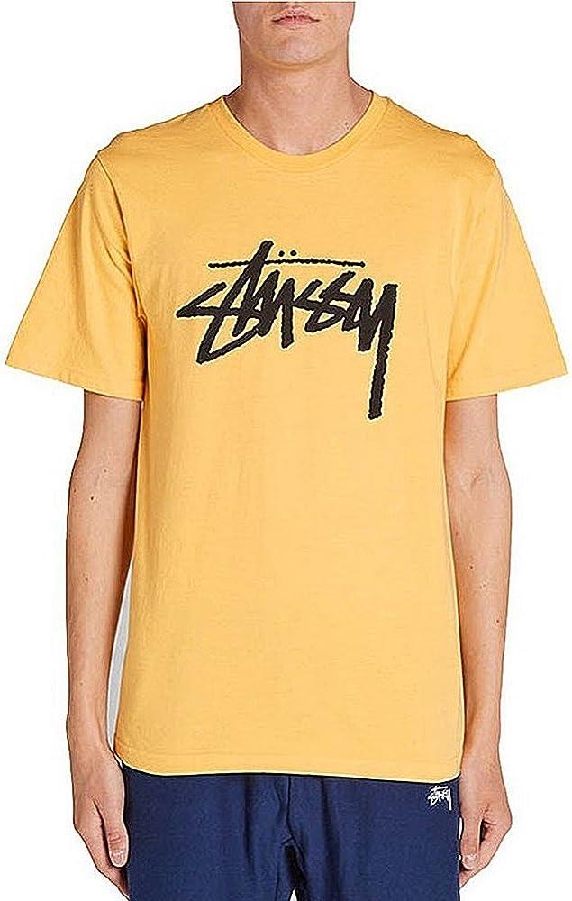 Camiseta Stussy – Stock amarillo talla: M (Medium): Amazon.es: Ropa y accesorios