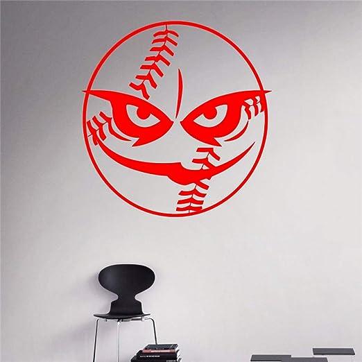 yaoxingfu Ball Beast Tatuajes de Pared Béisbol Vinilo Deportivo ...