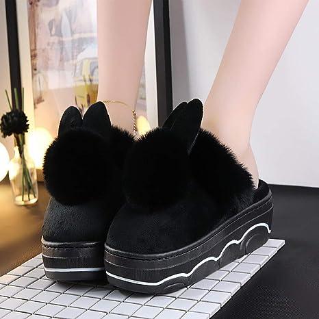 TGHYB Cotton Slippers For Women,Mute