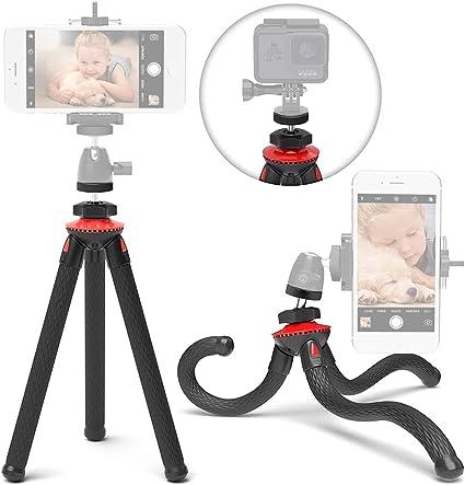 JTShop - Trípode Flexible para iPhone, trípode para cámara ...