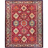 RUGGABLE Washable Stain Resistant Indoor/Outdoor, Kids, Pets, and Dog Friendly Area Rug 8'x10' Noor Ruby
