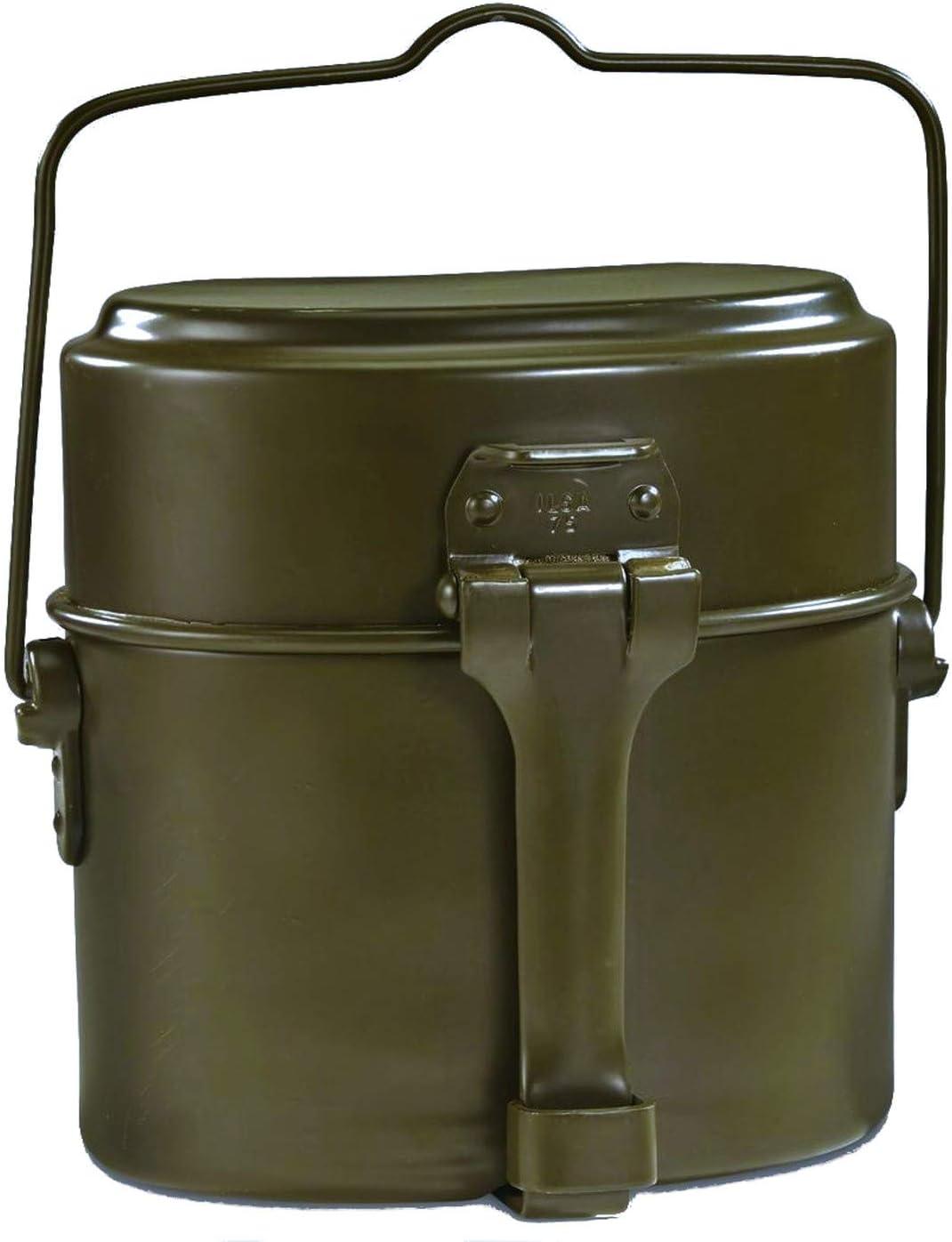 イタリア軍 メスキット 飯盒 3ピース 軍払下 未使用品 刻印 ILSA 75
