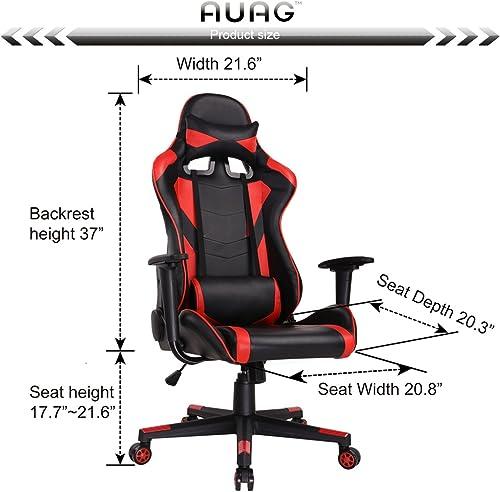 AuAg Ergonomic Gaming Chair under 100 dollars