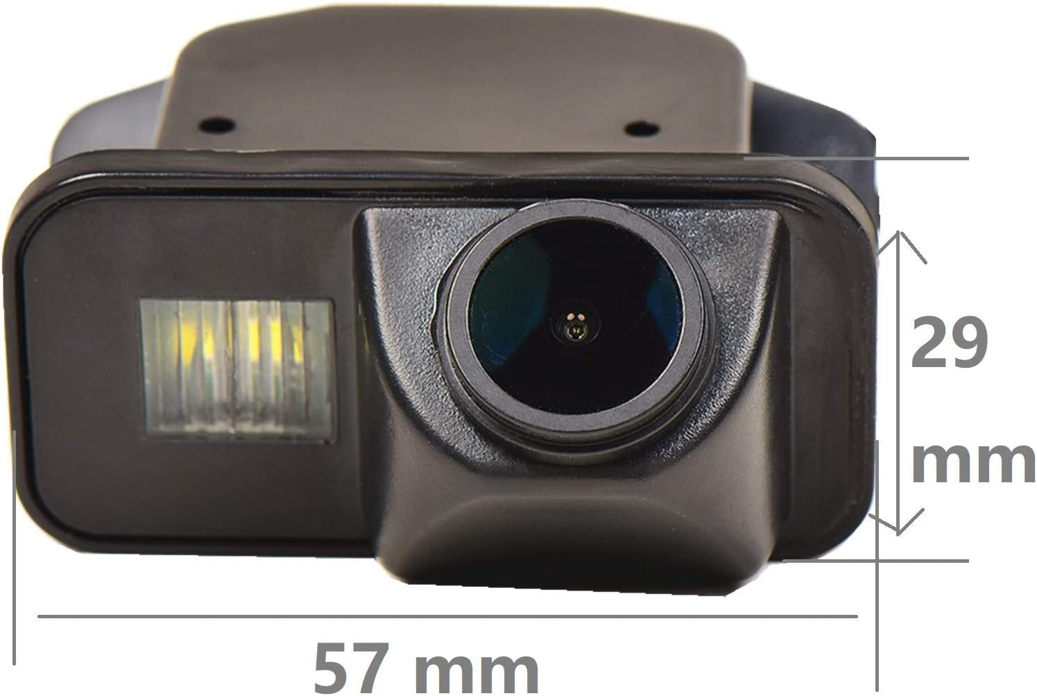 Rear Reversing Backup Camera Rearview License Plate Camera Night Vision Ip68 Waterproof for Toyota Corolla Auris Avensis T25 T27