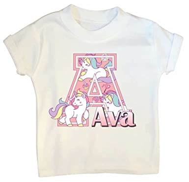 Girls Personalised T Shirt