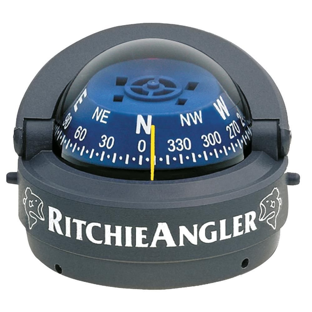 Ritchie Gray RA-93 Angler Compass - 2.75'' Direct-Reading Dial/Movable Sun Shield