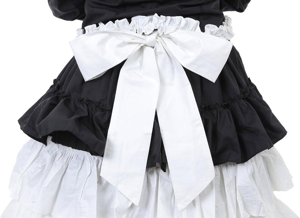 c2bf28f13c709 Hachigo ( ハチゴウ ) ゴスロリ 風 パンク ドレス ワンピース スカート フリル レース リボン ゴシック ロリータ Lolita