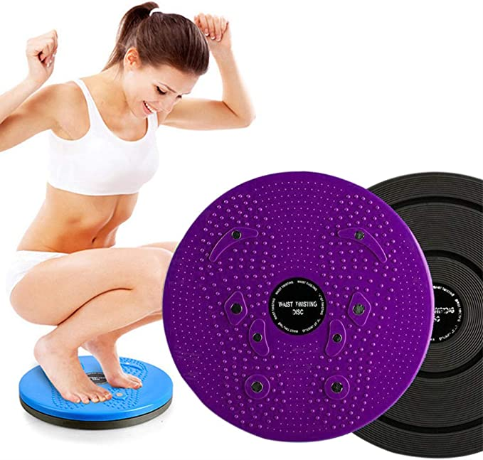 Twist Waist Disc Fitness Rotating Plate Abdomen Exerciser with Pull Rope HSG