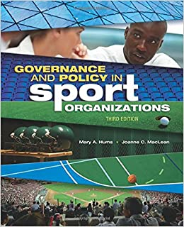 Amazon governance and policy in sport organizations sport governance and policy in sport organizations sport management 5051 free shipping fandeluxe Choice Image