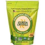 Florida Crystals Natural Sugar, Cane, 2-Pound Bag (Pack of 6)