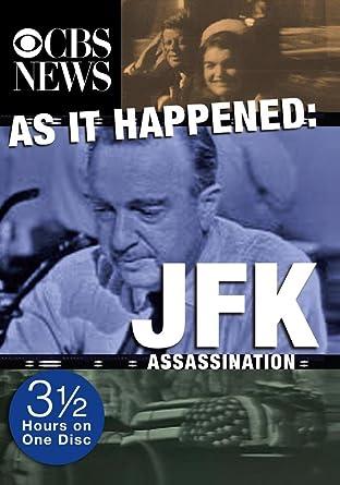 Amazoncom As It Happened Jfk Assassination Hosted By Bob