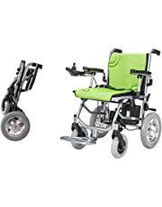 "The lightest & Most Compact Powered Wheelchair in The World - Ultra Portable Folding Power Wheelchair - Weights Only 39 lbs(Including 12A Lithium Battery) -Brushless Dual Motor - 18"" Seat Width"