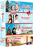 Coffret noël 4 DVD : CHRISTMAS WEDDING + Mrs MIRACLE + LOVE'S KITCHEN + COUP DE FOUDRE A NAPA VALLEY