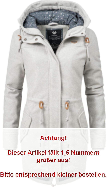Ragwear Damen Wintermantel Winterparka Elba Coat A 7 Farben XS-XXL