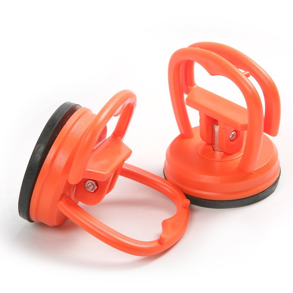 Preamer 2 Pieces 2 Inch 58mm Suction Cup Car Dent Remover Puller Auto Dent Body Glass Removal Tool