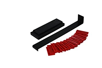 Laminate Floor Installation Kit customers will appreciate the convenience of this handy kit when they install their floors both pull bar and tapping block are built tough to withstand Cal Flor Ki75103 Laminate Floor Installation Kit