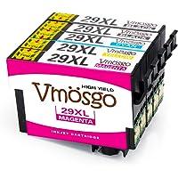Vmosgo Reemplazo para Epson 29 29XL Cartuchos de Tinta Compatiable con Epson Expression Home XP-235 XP-432 XP-332 XP-442 XP-335 XP-247 XP-435 XP-342 XP-245 XP-445 XP-345 XP-330 XP-430 XP-255