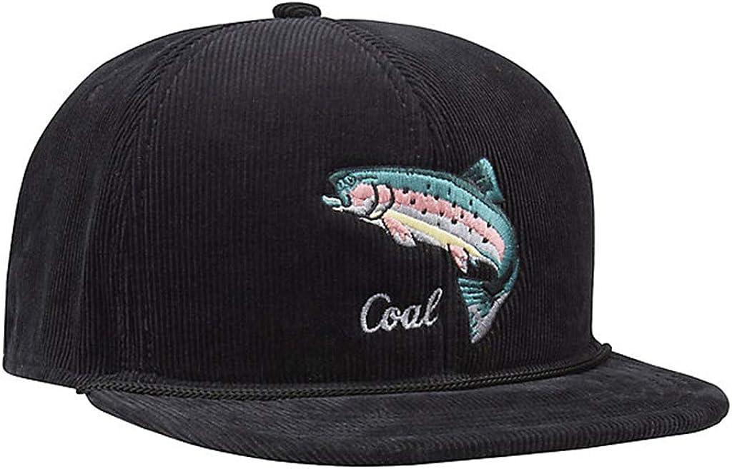 Coal Wilderness Hat Black Fish Snapback