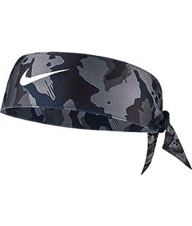 Amazon.com  Nike Dri Fit Head Tie Black  Sports   Outdoors 4f3c0bee12f
